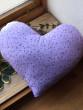 Voňavý polštář srdce lila