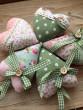Látkové srdíčko růžové