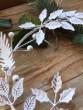 Plechový věneček listy