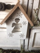 Závěsný domeček s andílkem
