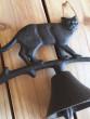 Zvon litina kočka