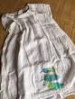 Lněné bílé šaty