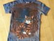Dětské tričko s krajkou a kocourem