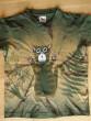 Dámské tričko zelené s kocourkem