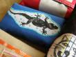 Domeček na kapesníčky s ještěrkou