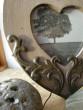 Rámeček srdíčko s ornamenty