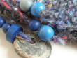 Párty kabelička modrá