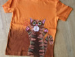 Dětské tričko oranžový kocour