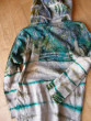 Tričko zelená batika