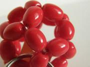 Přívěšek červená koule malá