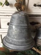 Plechový zvon úzký malý