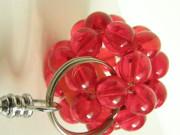 Přívěšek červená koule