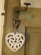 Malé dřevěné srdce