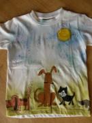 Dětské tričko Psí