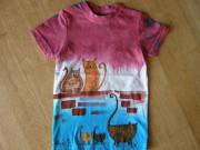 Dětské tričko Kočky na zdi