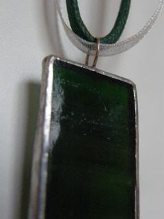 Náhrdelník tiffany zelený