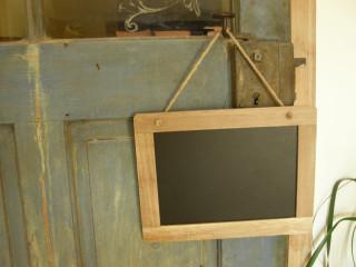 Dřevěná tabulka malá