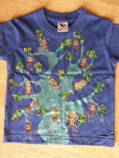 Dětské tričko Opičky