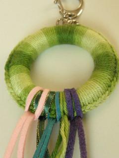 Přívěšek zelený kruh