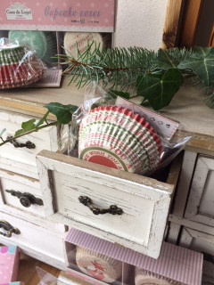 Vánoční pečení - košíčky