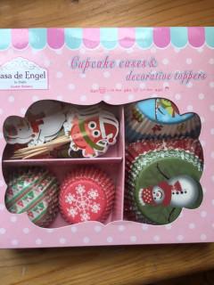 Vánoční pečení - košíčky 2 velikosti