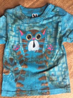 Tričko dětské kocourek