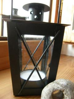 Kovová mini lucernička
